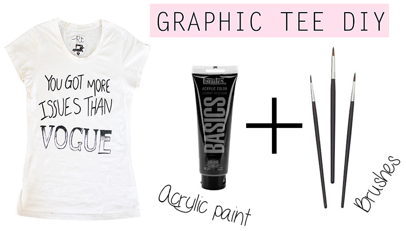 Make Your Own Graphic Tee
